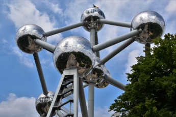 The Atomium of Brussels