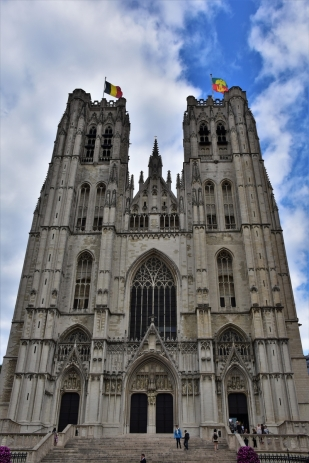 Brussels, cathedral