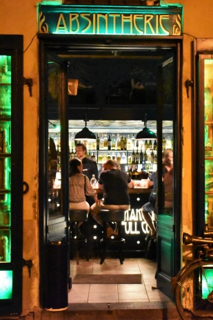 An absinthe bar in Prague