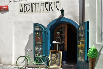 Prague, absinthe bar