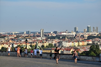 Prague, Hradcany Square, view
