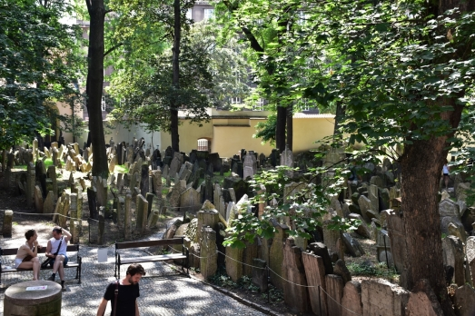 Prague, Jewish Quarter, cemetery