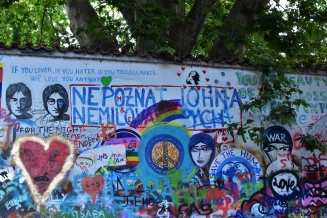 Prague, John Lennon Wall