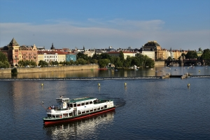 Prague, Vltava River, Charles Bridge