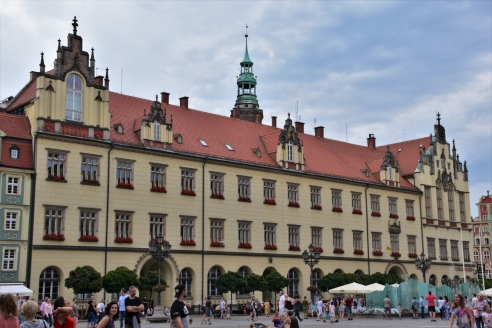 Wroclaw, Market Square, NEw City Hall