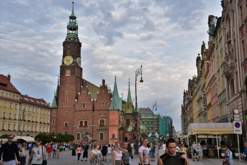 Wroclaw, Market Square, Old City Hall