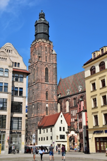 Wroclaw, St Elizabeth's Church