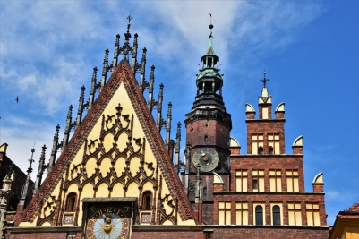 The Old Town Hall of Wroclaw