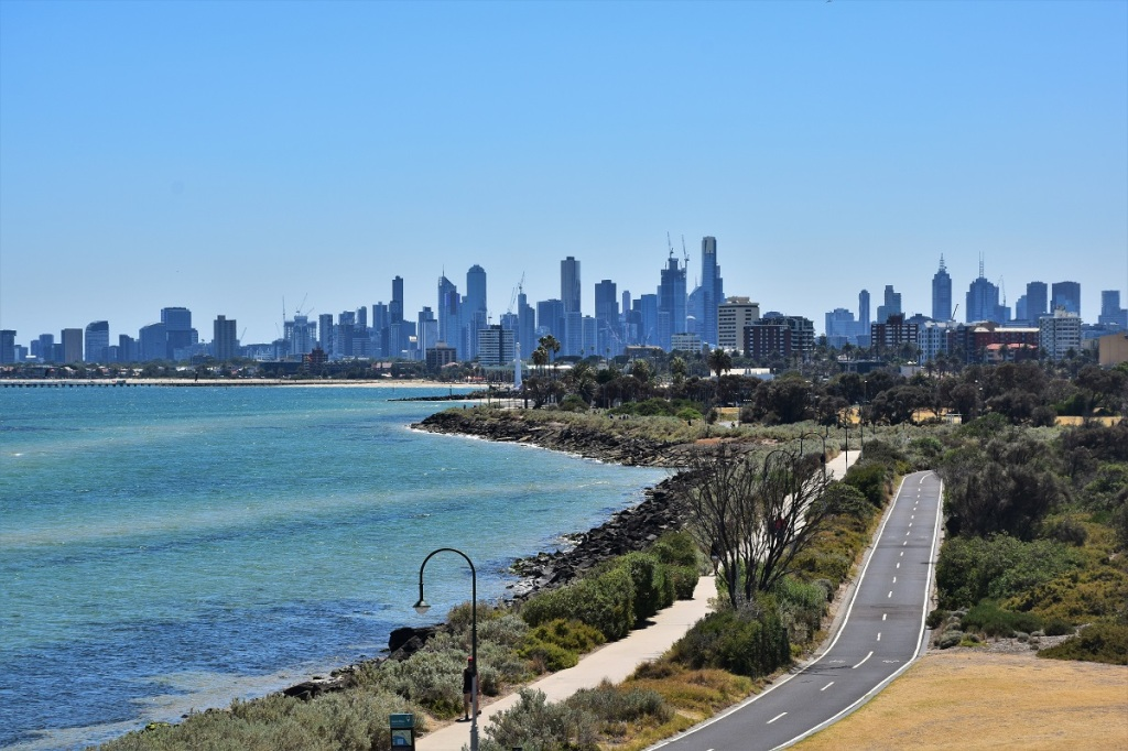 Melbourne seen from Point Ormond Lookout