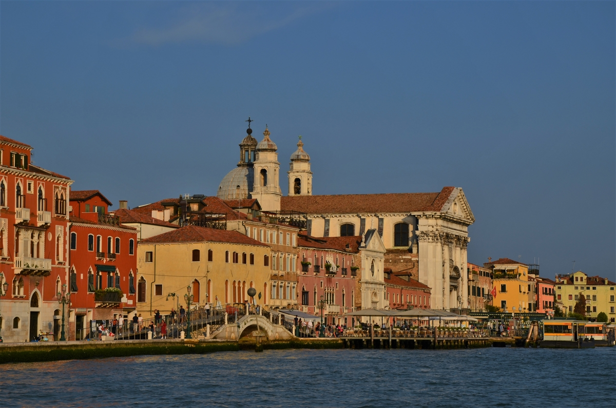 Venice, sunset, I Gesuati, church