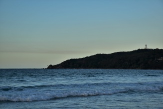The lighthouse of Byron Bay and Cape Byron