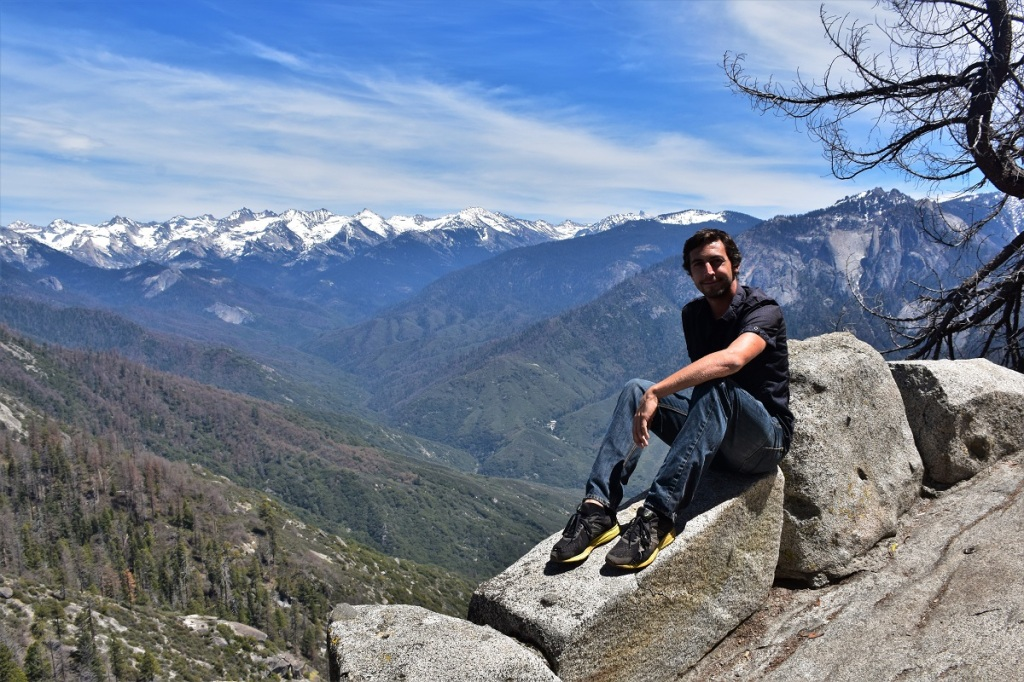 Me in Sequoia National Park, California