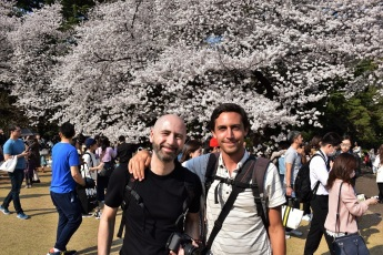 My friend Jeff and me in Japan